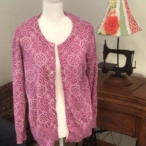 Pretty Geometric Design Cardigan